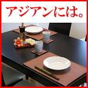 ■ PVC レザーランチョン mat 'LEKKU type-a'