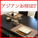 Type-a for 68% off PVC レザーランチョン mat 'LEKKU type-a' 2 + coaster LEST two deals 2 name-like set