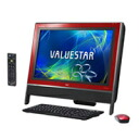NEC desktop PC VALUESTAR N PC-VN470GS6R (VN470/GS6R) cranberry red