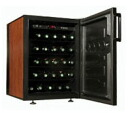 Up to 38 ドメティック company wine cellar CS32D / grain of wood door / storing
