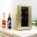 "In the case of six ""last transfer"" Dometic( ドメティック) small size wine cellar - storing DW6-CG champagne gold ※ collect on delivery, it costs the postage separately."