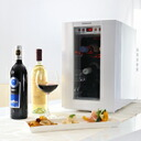 "In the case of six ""last transfer"" Dometic( ドメティック) small size wine cellar - storing DW6-WH Snow white ※ collect on delivery, it costs the postage separately."