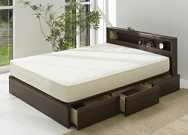 image result for wood platform beds with storage - Queen Bed Frame With Storage