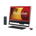 NEC desktop PC VALUESTAR N PC-VN570NSR(VN570/NSR) cranberry red