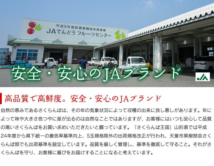 安全・安心のJAブランド | 高品質で高鮮度。安全・安心のJAブランド