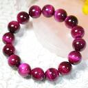 Rose tiger eye (rose tiger's eye) 12mm bracelet ★ power stone tiger eye beads type fs3gm