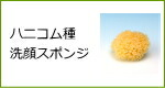 天然海綿スポンジ・ハニコム種洗顔スポンジ