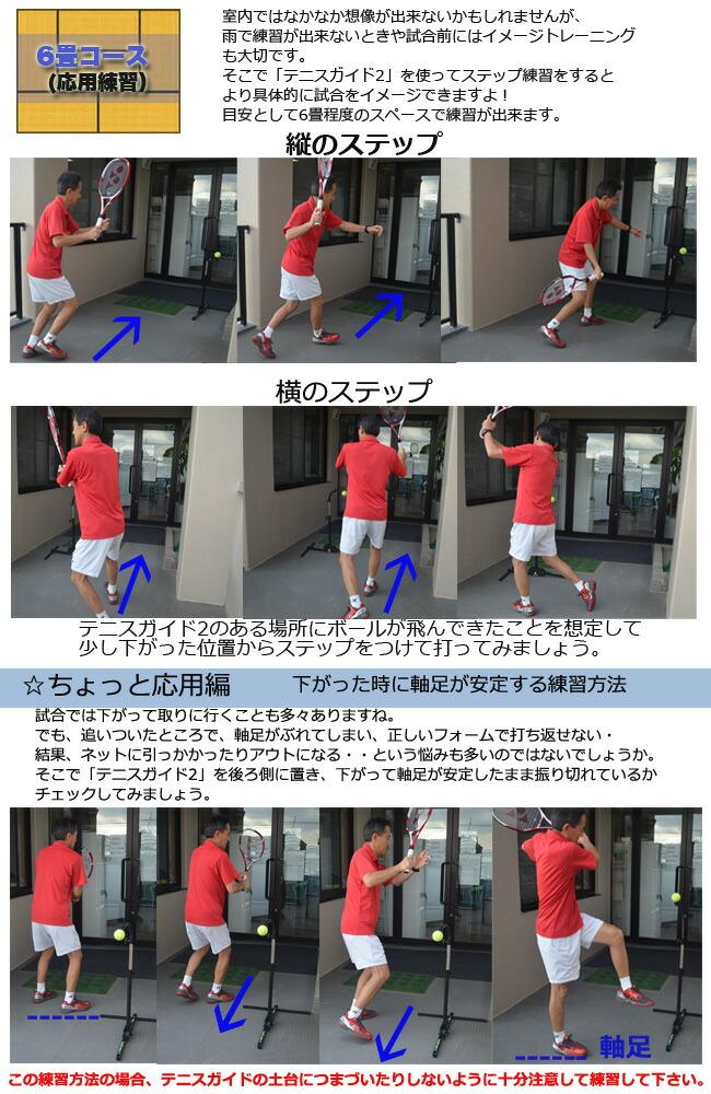 「テニスガイド2」裏技練習