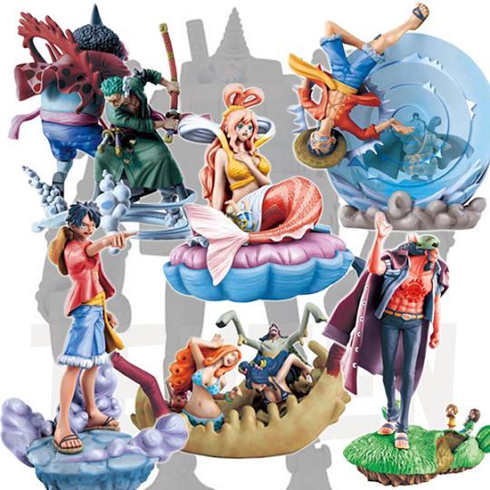 ijeux  Figurine Trading One Piece Log Box Marineford Box 02 Diorama Boa