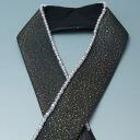 Brand new for long-sleeved dress with Crystal beaded lap collar 3 black ★ [recycled kimono & kimono buy recycled kimono & antique kimono shop