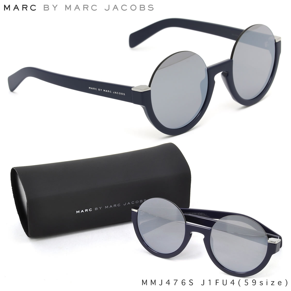 Marc By Marc Jacobs Round Frame Glasses : Optical Shop Thats Rakuten Global Market: Marc by Marc ...