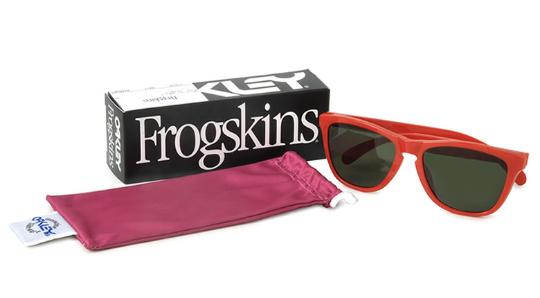 crosshoakley frogskins rootbeer  oakley
