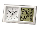 Citizen citizen alarm clock temperature-humidity life navigator 648A 8RE648-A03 in total
