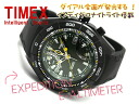 Timex EXPEDITION E-ALTIMETER expedition E- アルティメーターメンズ watch altimeter deployment intelligent quartz moss-green dial black urethane belt T2N729