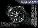 5 SEIKO rolling by hand & self-winding watches type men watch All Blacks tenless belt SRP157J1