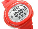 Lady's watch red SSVD007 for SEIKO Lucia running-style digital running