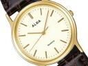 SEIKO ALBA Seiko Alba standard palocci mens watch beige x Brown AIGN004
