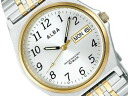 SEIKO ALBA SEIKO Aruba standard screw lock-type men watch silver X gold AIGT002