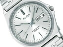 SEIKO ALBA SEIKO Aruba standard screw lock-type men watch silver AIGT003