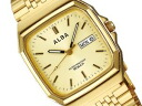 SEIKO ALBA Seiko Alba standard screw-lock mens watch fashionable gold AIGT012