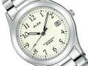 SEIKO ALBA SEIKO Aruba standard screw lock-type men watch white X silver AIGT014
