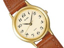 SEIKO ALBA Seiko Alba standard palocci ladies watch Brown / Brown AIHN002