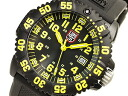 Luminox Navy Seals colormark series T25 notation 2007 Basel model black dial yellow index 3055