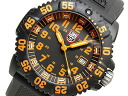 Luminox Navy Seals colormark series T25 notation 2007 Basel model black dial Orange index 3059