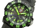 Luminox Navy Seals colormark series T25 notation 2007 Basel model black dial green index 3067