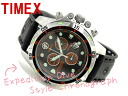 Timex Expedition divers men chronograph watch black dial urethane belt T49800