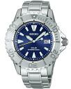 Seiko ProspEx diver scuba solar mens Watch Blue SBCB013