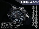 Seiko 5 hand-wound & wound by automatic mens watch black bezel black dial nylon belt SRP219J1
