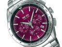 SEIKO Seiko WIRED wired new standard chronograph mens Watch Red × silver AGAW402