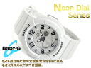 Casio baby G ネオンダイアルシリーズアナデジ watch white BGA-132-7BDR
