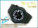 Casio baby G reimportation foreign countries モデルネオンダイアルシリーズアナデジ watch khaki black white BGA-134-3BDR