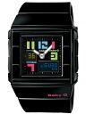 Casio baby G CASKET カスケットポッピングダイアルアナデジ watch black multicolored BGA-200PD-1BJF