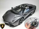 RC 람보르기니 レヴェントン 로드스터 콘 1/14 크기 공식 라이센스 제품 빨리 재생 배터리 포함! (단 3 건전지 5 개 + 9V 건전지 1 개) ☆ 레 벤 톤 Lamborghini Reventon