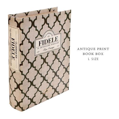 アンティークプリント 洋書 BOOK BOX