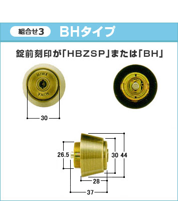THM型+BHタイプ