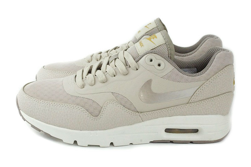 nike air max 1 ultra essential dames beige