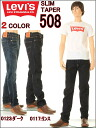 00508-0117-0123 Levis slim tapered 2 color (rinse/dark)