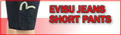 evisu short pants