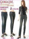 New product Georgia love camellia beauty leg MAGIC Perfect GMH305C-522-541-81( ダークブラウンユーズド ミッドブラウンユーズド dark) beauty leg, beautiful buttocks Kinney jeans