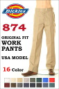 Dickies 874 ORIGINAL FIT WORK PANTS LOT-874 TRADITIONALWORK PANTS 16 COLOR 워크 팬츠 전통적 오리지날 피트 칼라 16색
