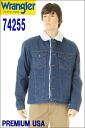 Wrangler Western Jeans Denim Jackt 커맨더 74255 신품 인디 고 데님 G 쟌 웨스턴 데님 쟈 켓