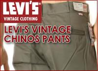 LEVIS VINTAGE CHINOS PANTS
