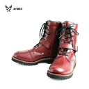 Shipping & cash on delivery fee free regular handling AVIREX U.S.A.(avirex) AV2100 YAMATO (Yamato) biker style boots CHERRY BROWN チェリーブラウン fs3gm