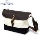 일본 국내 무료 우송 ・ 대금 상환 수수료 무료 정품 판매점 HERITAGE LEATHER CO. (ヘリテージレザー) NO.8036 Mini Shoulder Bag (미니 숄더백) Natural/Black HL048