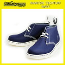 Postage, collect on delivery fee free of charge authorized agent Dr.Martens doctor Martin MANTON DESERT BOOTS Munton desert boots Navy Tech Tuff X White Solefs3gm