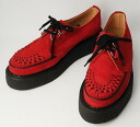 Postage, 3588 collect on delivery fee free of charge authorized agent George Cox( George coxswain) rubber sole VI-sole red suede red leather lining fs3gm